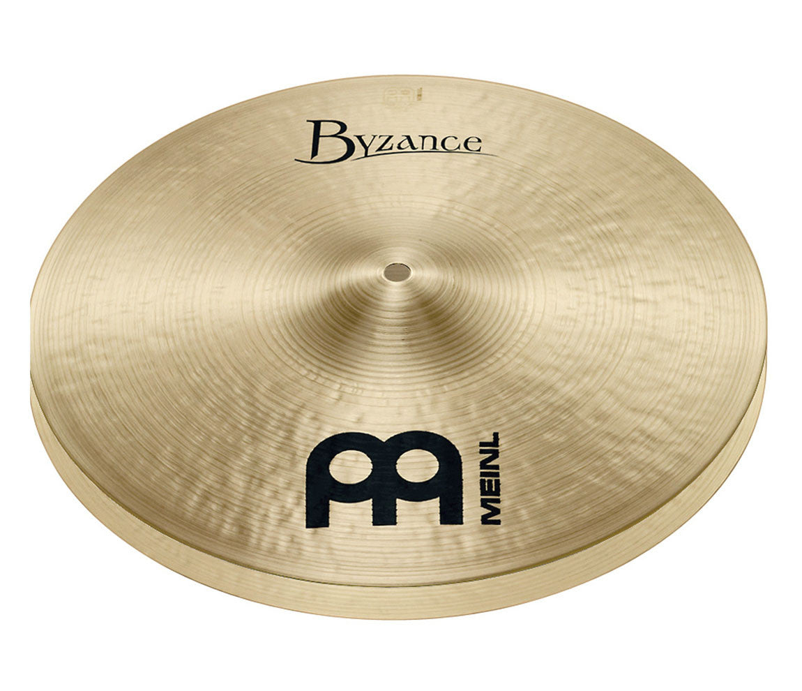 "Meinl Byzance Traditional 16"" Medium Hi-Hat Cymbal"
