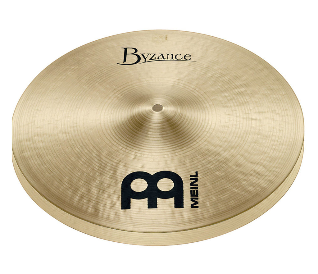 "Meinl Byzance Traditional 14"" Medium Hi-Hat Cymbal"