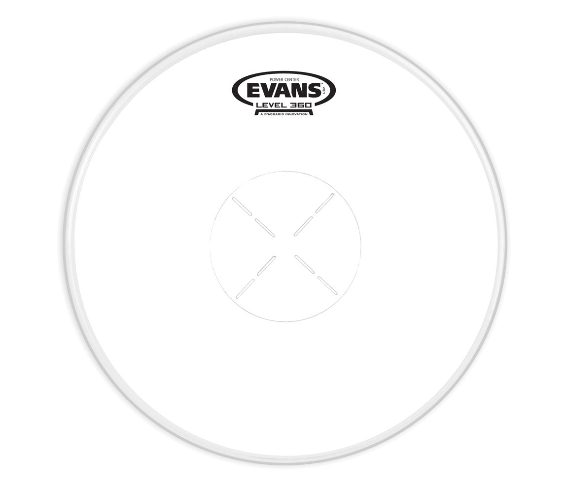 Evans Power Center Drum Head, 14""