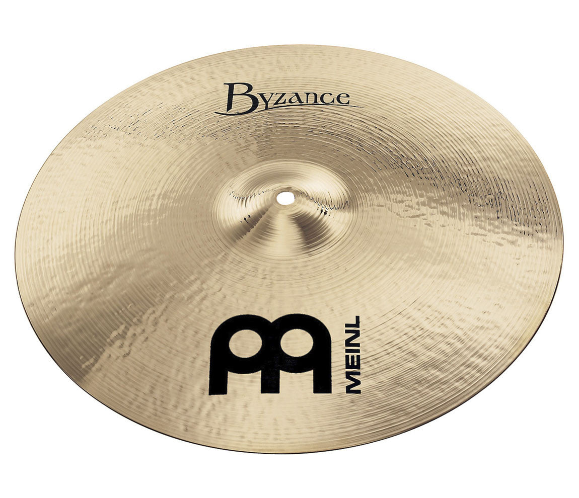 "Meinl Byzance Brilliant 16"" Medium Thin Crash Cymbal"