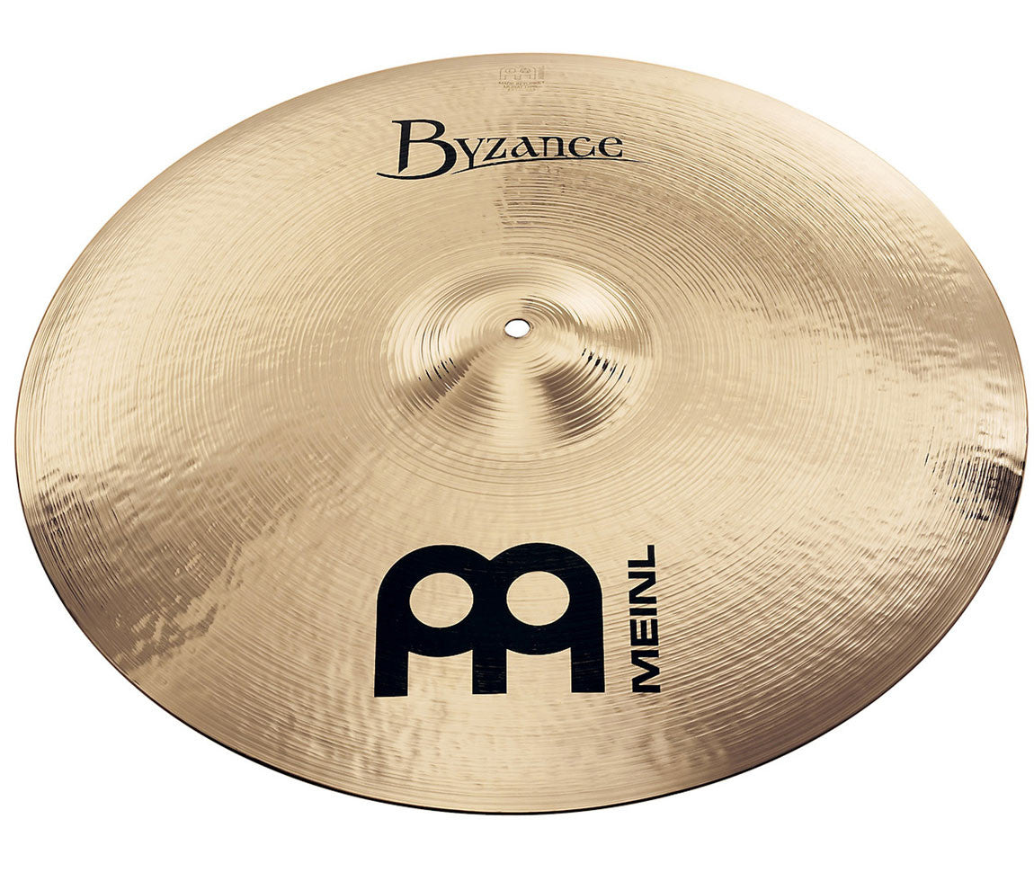 "Meinl Byzance Brilliant 21"" Medium Ride Cymbal"