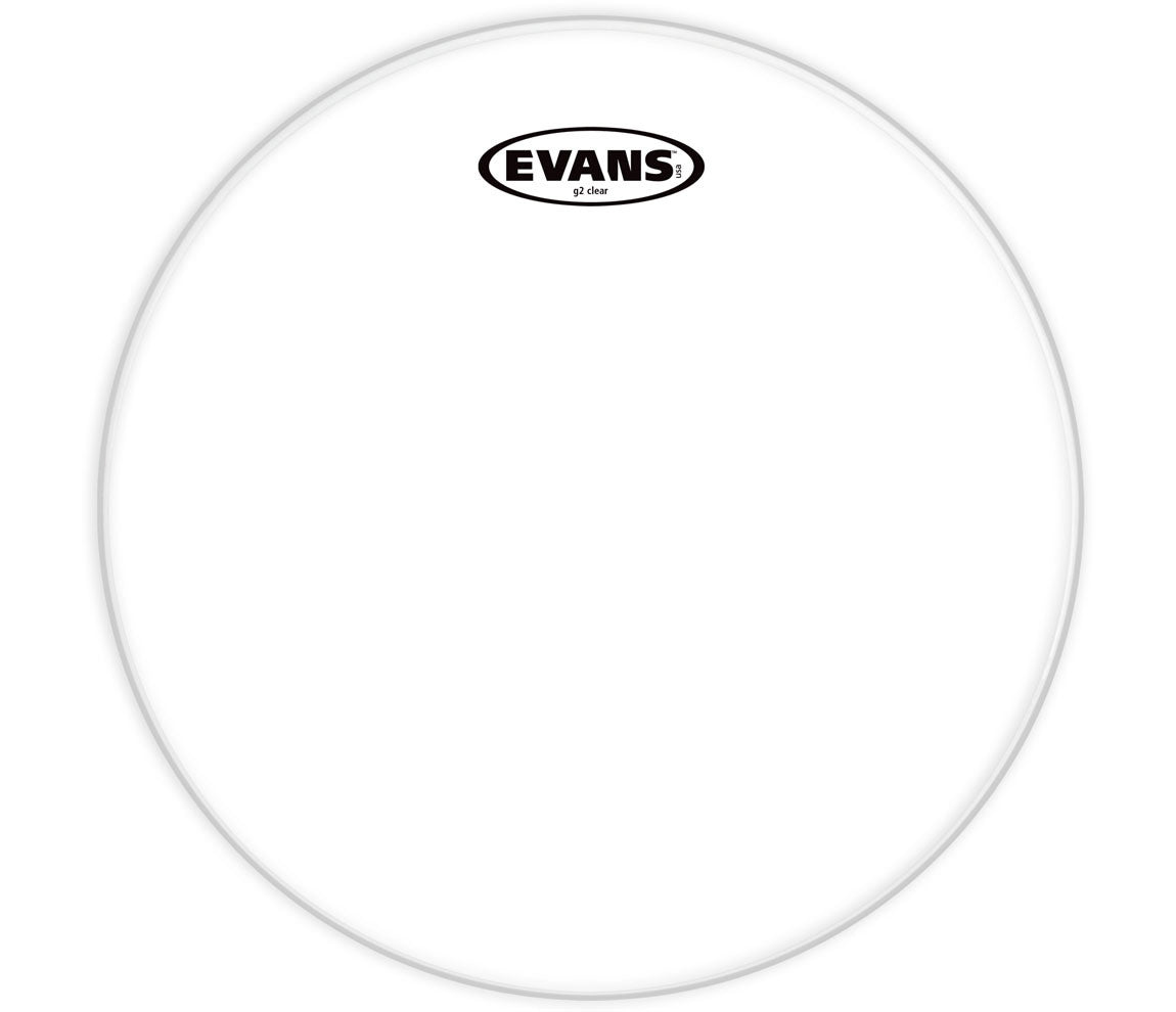 Evans G2 Clear Bass Drum Head, 22""