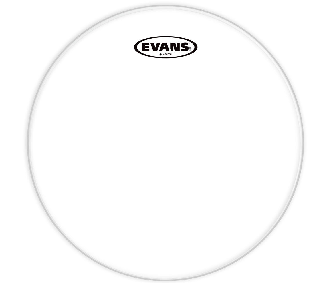 Evans G2 Coated Bass Drum Head, 20""