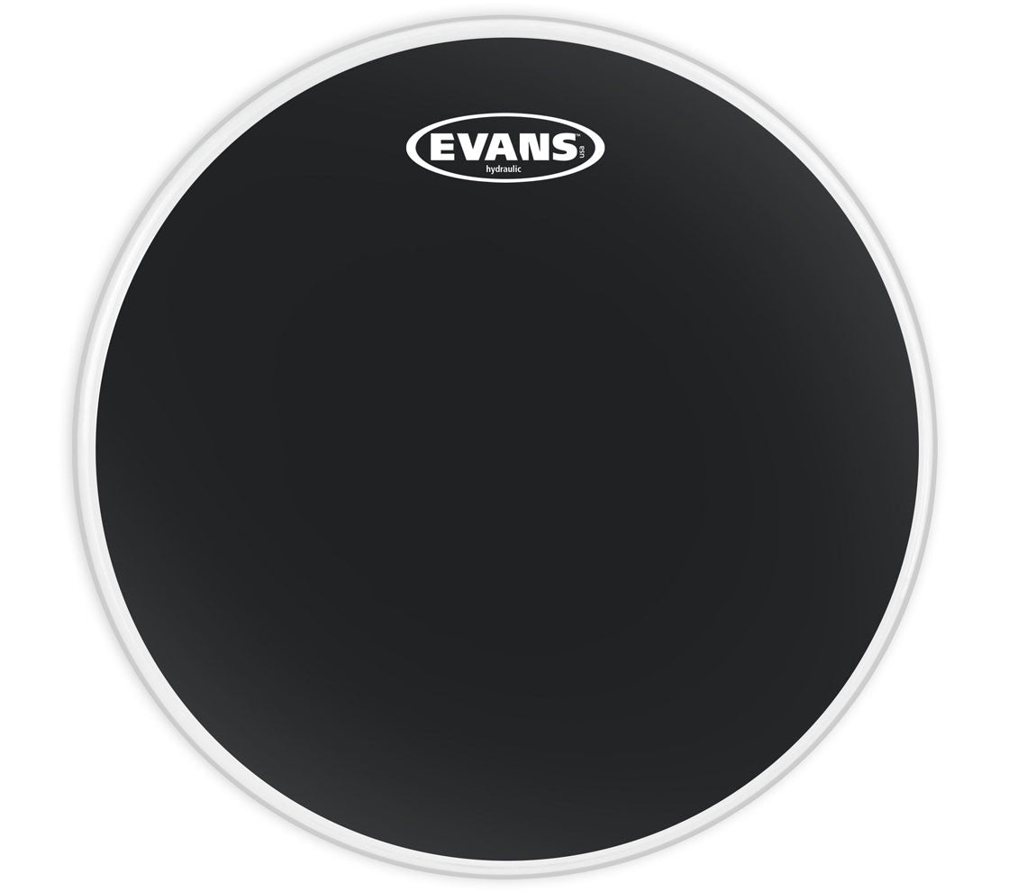 Evans Hydraulic Black Bass Drum Head, 22""
