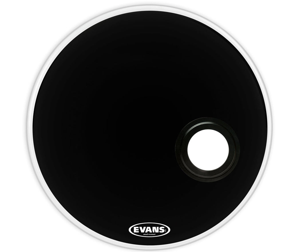 Evans REMAD Resonant Bass Drum Head, 24""