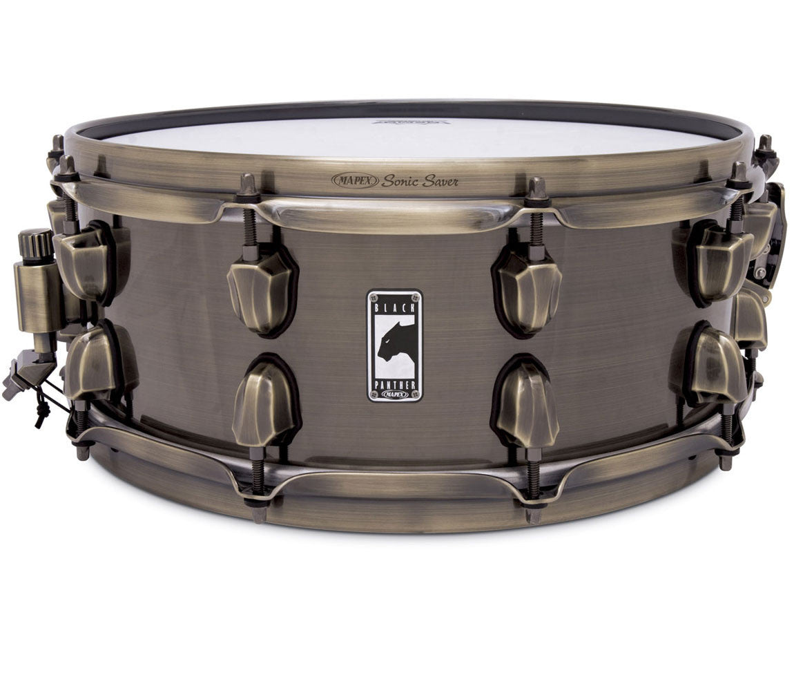 "Mapex Black Panther 'Brass Cat' 14"" x 5.5"" Snare Drum"