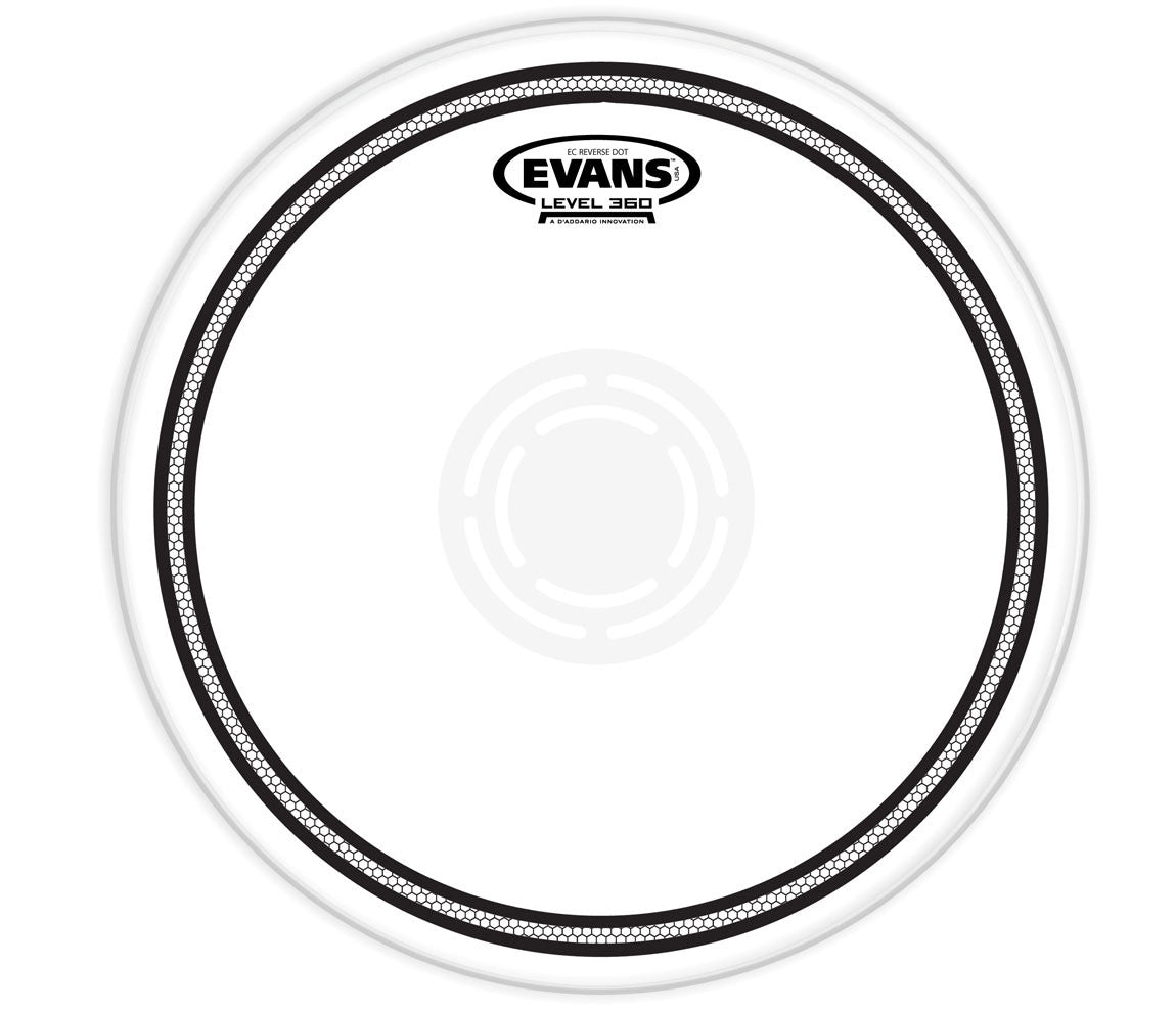 Evans EC Reverse Dot Snare Drum Head, 10""