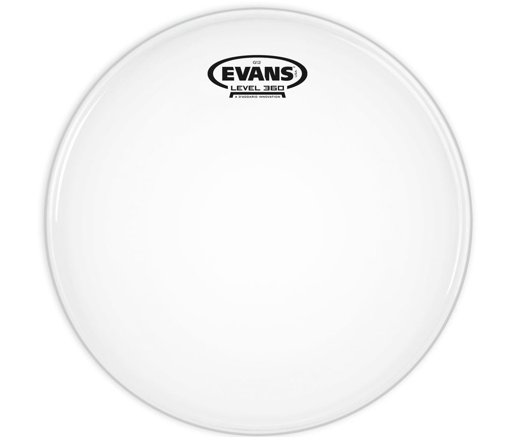 Evans G12 Coated White Drum Head, 12""