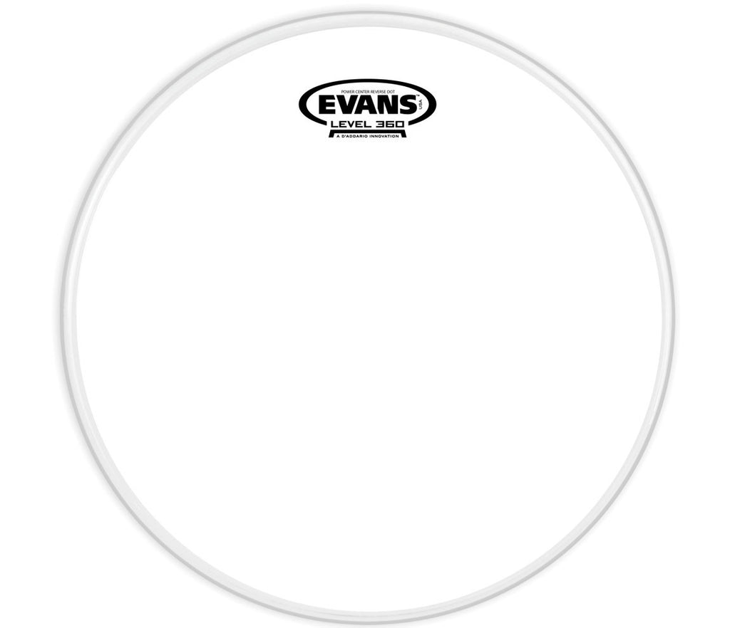 Evans Power Center Reverse Dot Drum Head, 14""