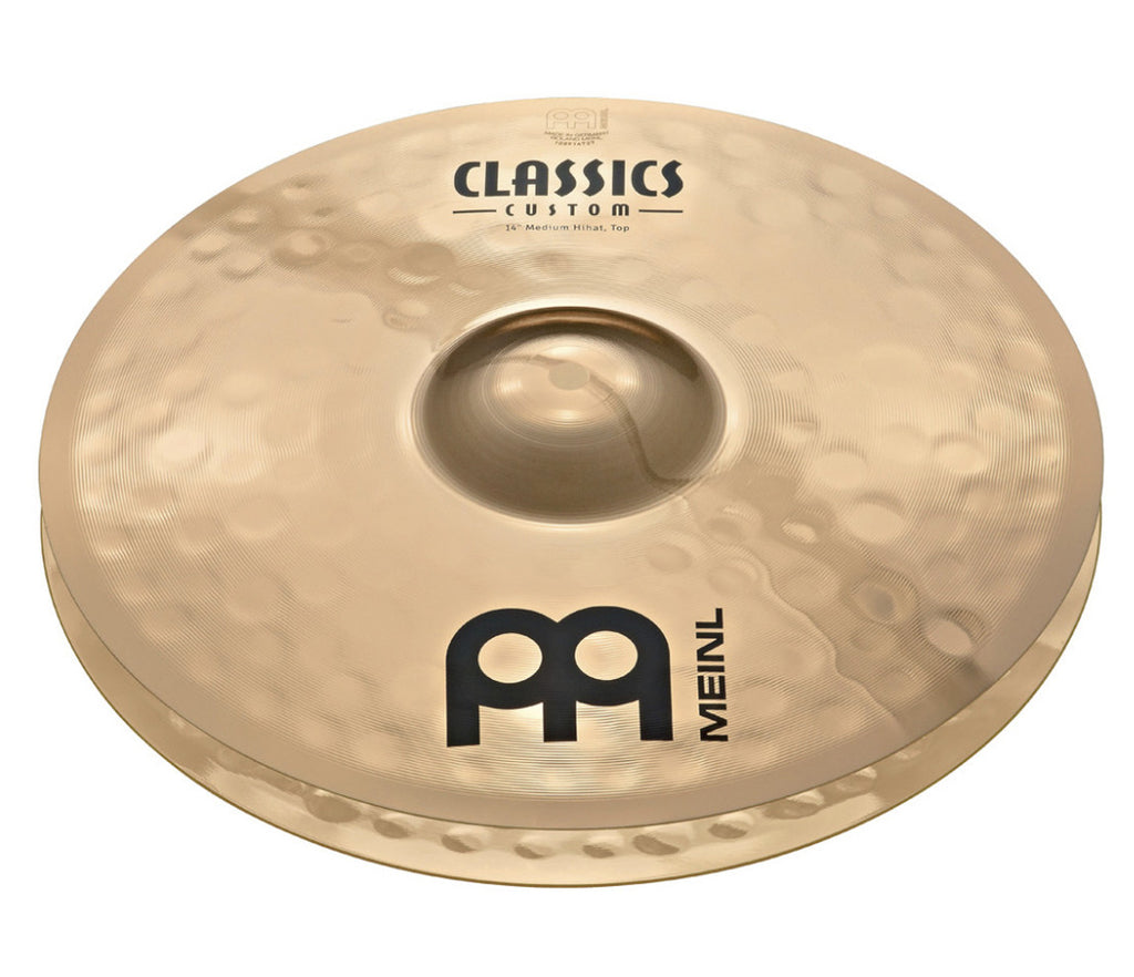 "Meinl Classics Custom 14"" Medium Hi-Hat Cymbal"