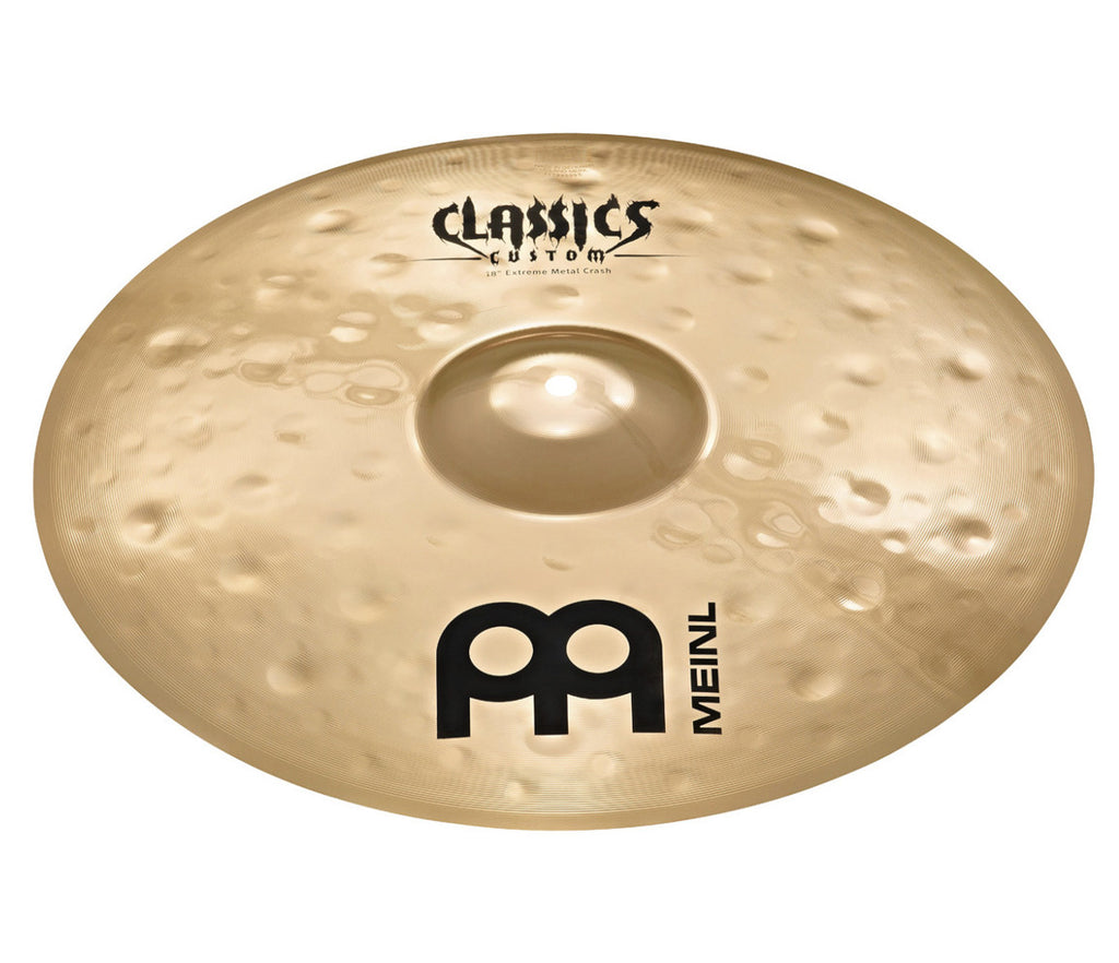 "Meinl Classics Custom Extreme Metal Series 19"" Crash Cymbal"