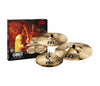 "Meinl Classics Custom Extreme Metal Series Cymbal Set (14"" Hi-Hat, 18"" Crash, 20"" Ride)"
