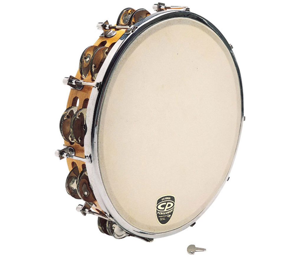 CP Wood Tambourine tunable 10'' CP391