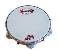 "Contemporanea Pandeiro 10"" Wood 'Coco Repente' Nylon Head"