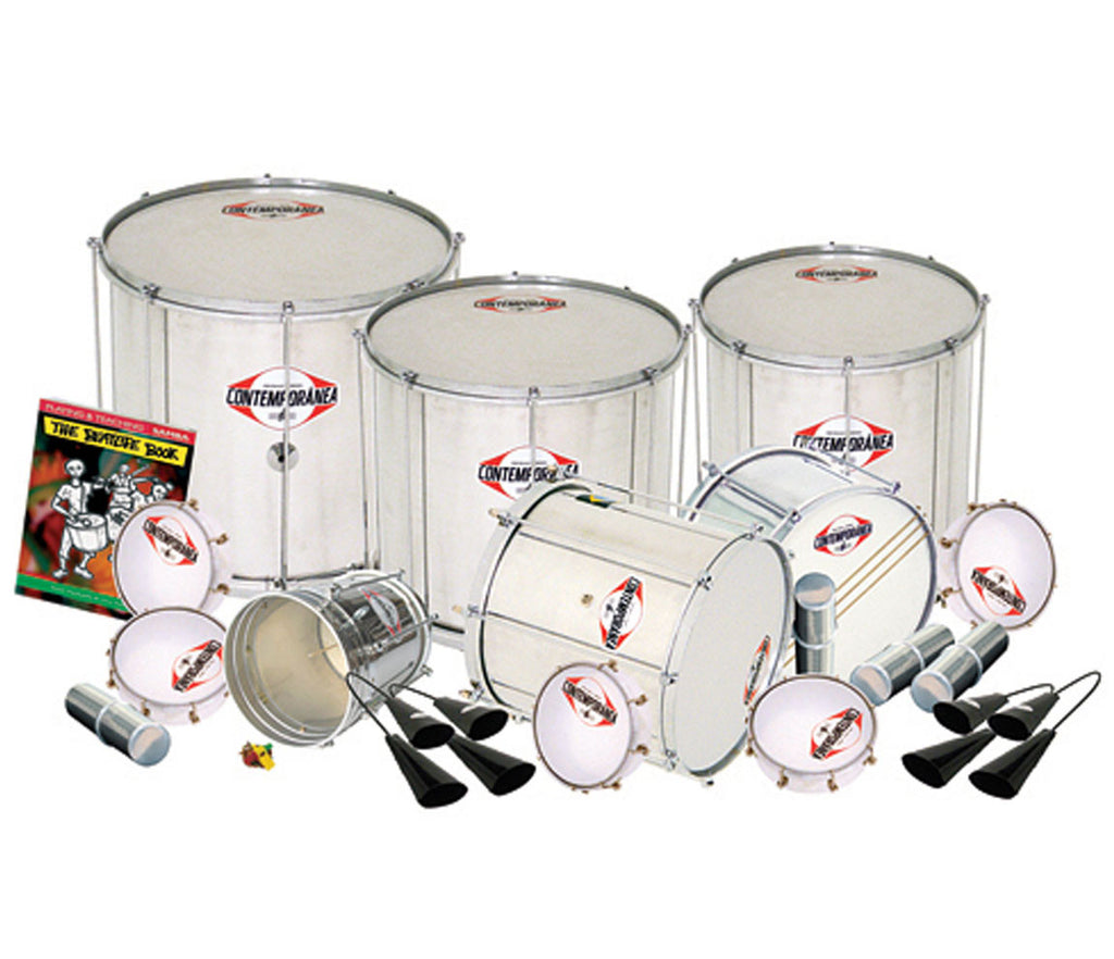 Contemporanea Professional Compact Brazilian Samba Pack for 20 players - Key Stage 3