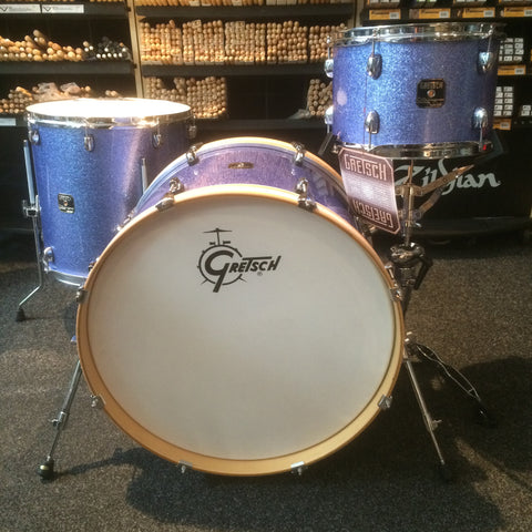 Gretsch Catalina Club 3-Piece Shell Pack in Ice Blue Glitter (Limited Edition)