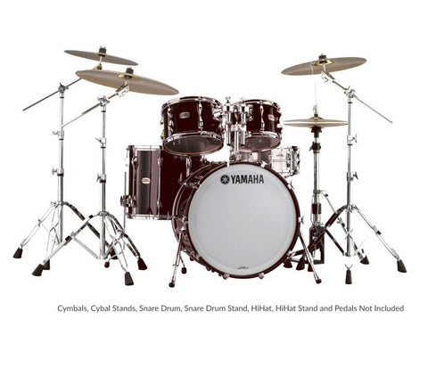 Yamaha 9000 Recording Custom 4-Piece Fusion Shell Pack in Classic Walnut