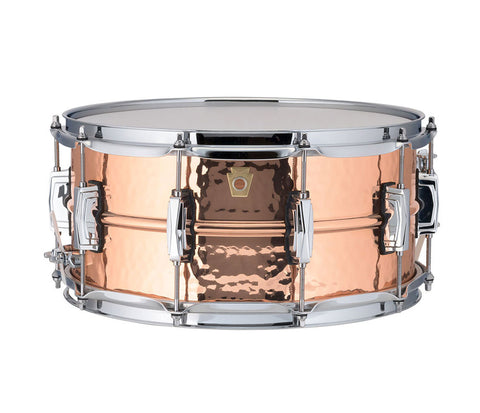 "Ludwig 14"" x 6.5"" USA Copper Phonic Snare Drum (LC662K)"