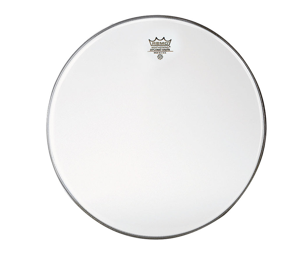 "Remo 14"" Diplomat Uncoated Snare side head"