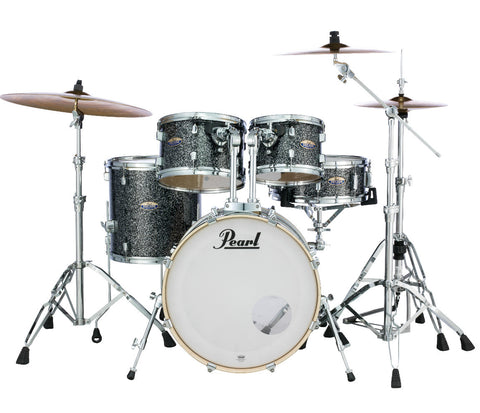 Slate Galaxy Sparkle Pearl drum kit