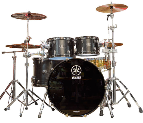 Yamaha Live Custom 4-Piece Shell Pack in Blackwood