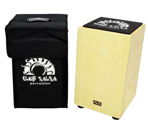 GEWApure Club Salsa Birch Cajon Birch including Rucksack Case