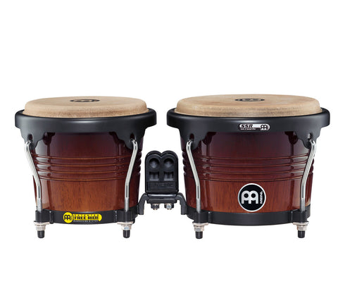 "Meinl Free Ride Series Wood Bongo 6 3/4"" & 8"" Coffee Burst"
