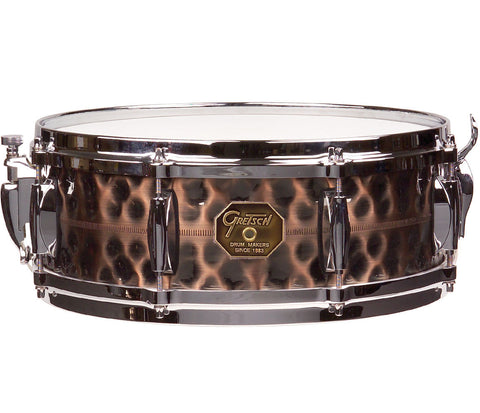 Gretsch G4160HC Hammered Antique Copper Snare Drum