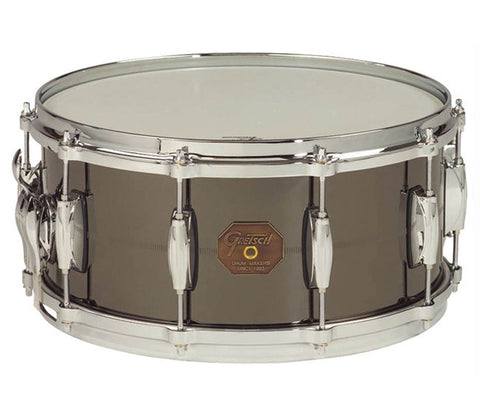 "Gretsch G-4000 Series 14"" x 6.5"" Solid Steel Shell Snare Drum"