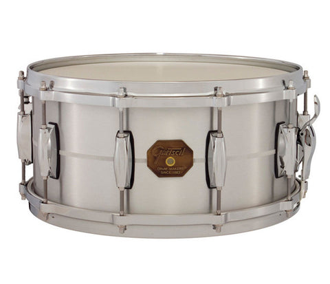 Gretsch G4000 Series Solid Aluminum Shell Snare Drum