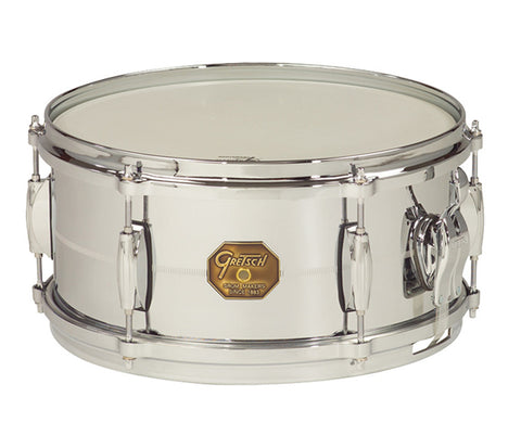 Gretsch Snare G4000 Series 13‰۝ x 6‰۝ Chrome Over Brass Shell Snare Drum