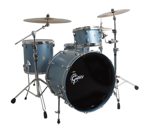 Gretsch USA Custom 4-Piece Shell Pack in Ice Blue Metallic