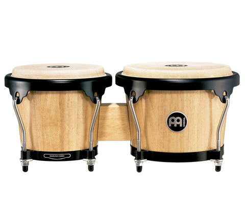 "Meinl Headliner Series Wood Bongo 6 3/4"" & 8"" Natural"