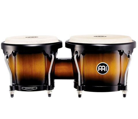 "Meinl Headliner Series Wood Bongo 6 3/4"" & 8"" Vintage Sunburst"