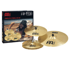 "Meinl HCS Complete Cymbal Set (14"" Hi-Hat, 16"" Crash, 20"" Ride)"