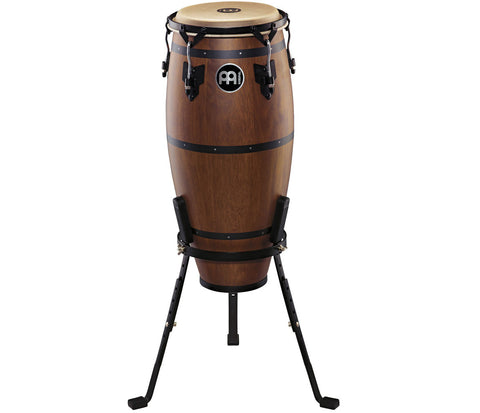 "Meinl Headliner Designer Series Conga 10"" Walnut Brown with Basket Stand"