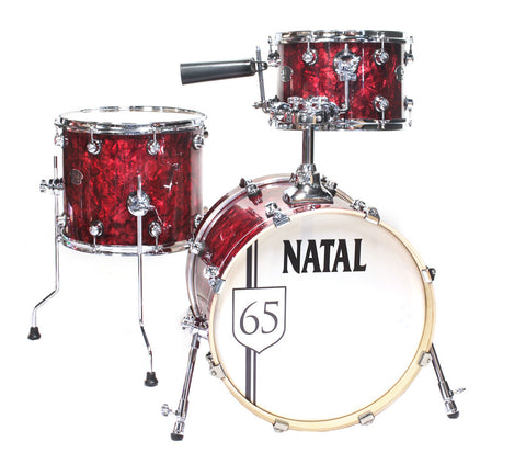 Limited Edition Natal The '65 Jazz Shell Pack in Red Oyster