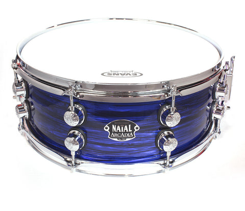 "Limited Edition Natal The '65 14"" x 5.5"" Snare Drum in Blue Oyster"