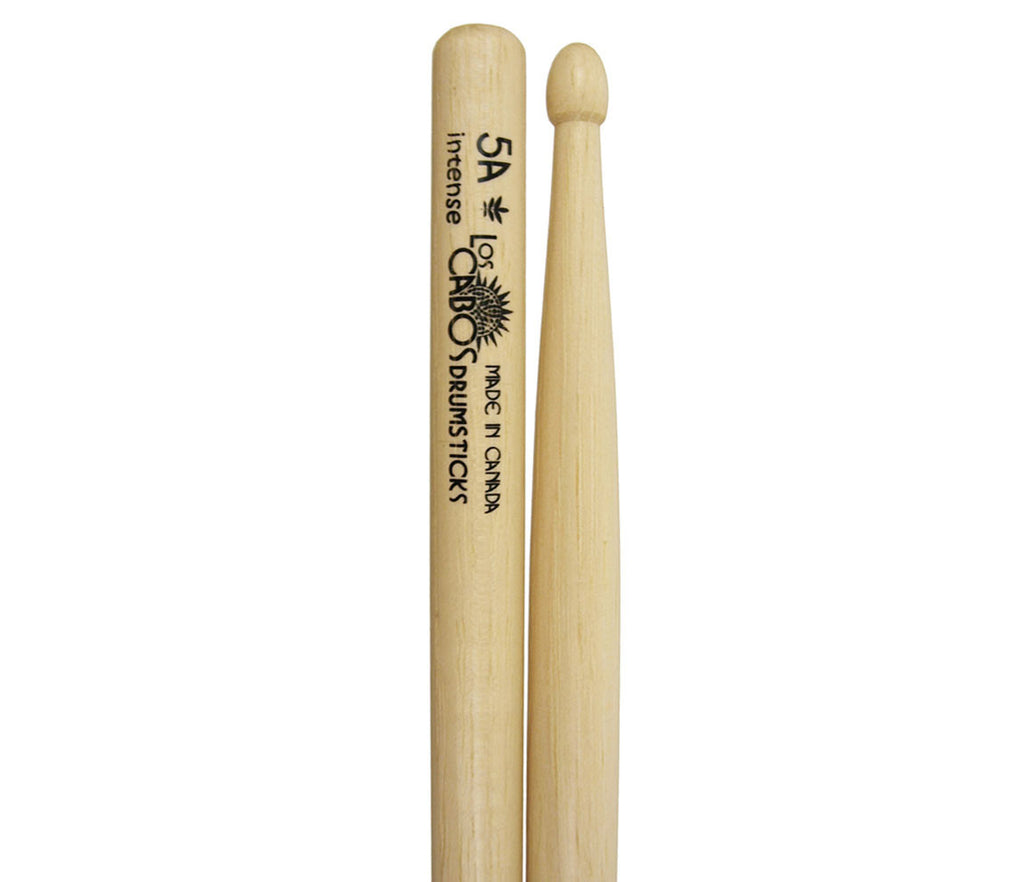Los Cabos 5A Intense White Hickory Drumsticks
