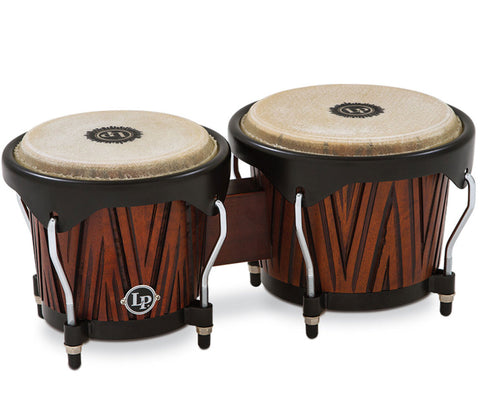 "LP City Carved Bongo Mango Wood 6.5"" & 7"" LP601NY-CMW"