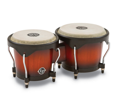 LP City Wood Bongos LP601NY-VSB in Vintage Sunburst