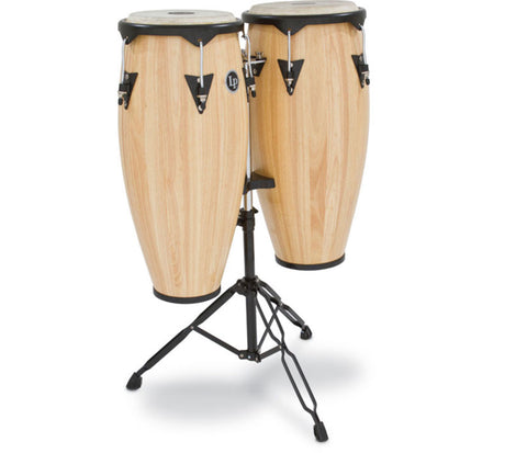 "LP City Wood Congaset 10"" & 11"" Natural LP646NY-AW"