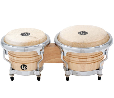LP Natural Wood Bongos LPM199-AW