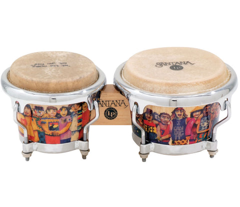 LP Natural Wood Bongos LPM200-AW