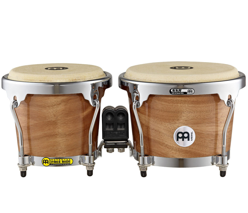 "Meinl Radial Ply Construction (RAPC) Bongo 6 3/4"" & 8"" Cherry"