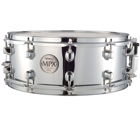 "Mapex MPX Steel 14"" x 5.5"" Snare Drum"