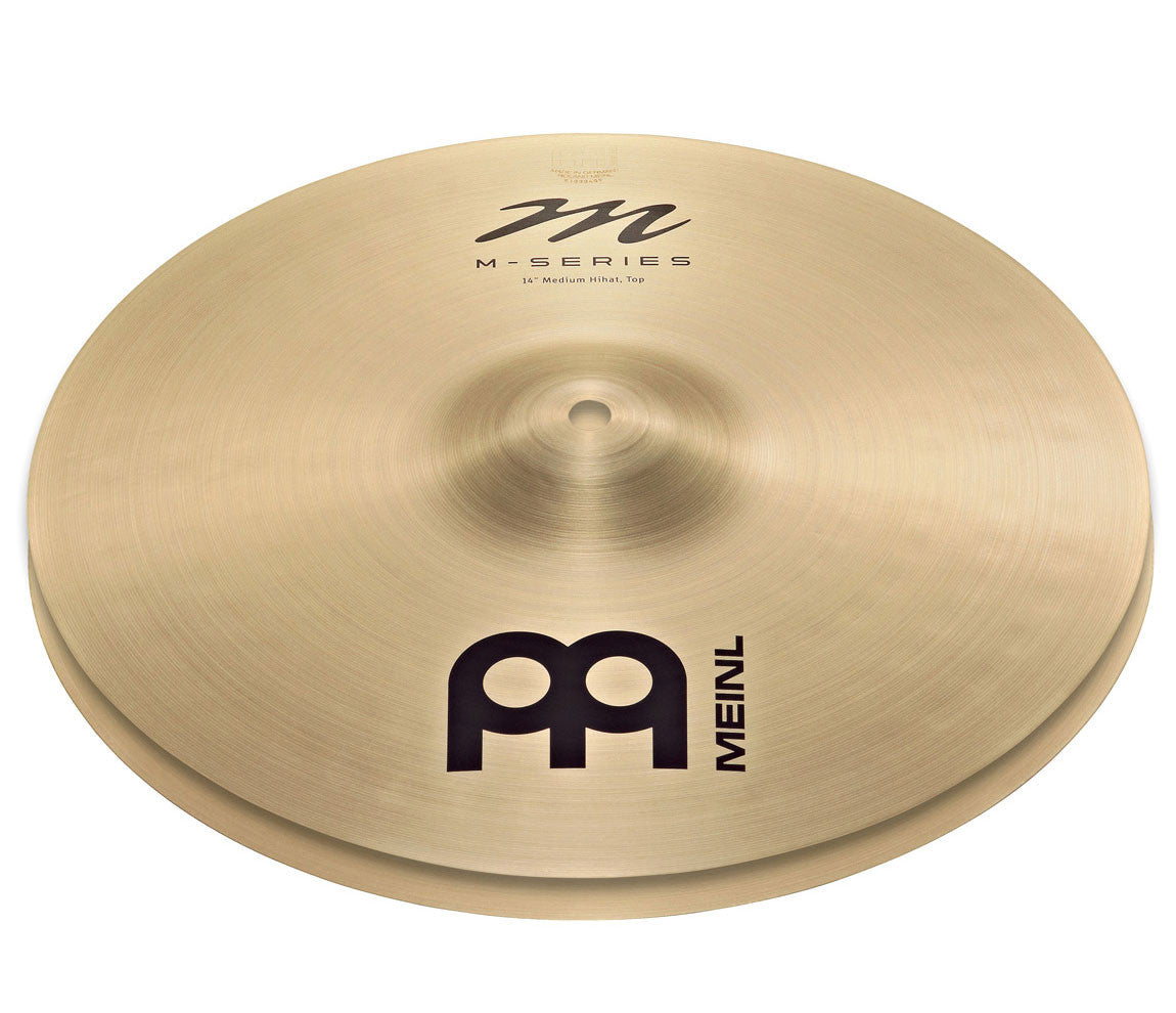 "Meinl M-Series Traditional 14"" Heavy Hi-Hat Cymbal"