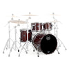 Mapex, Mapex Saturn V, Club Fusion, 4 Piece Shell Pack, Red Strata Pearl, Espresso Walnut