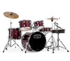 Mapex Tornado Compact Beginner Drum Kit in Dark Burgundy