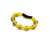 Natal Spirit Tambourine in Yellow, Vendor: Natal, Type: Tambourines & Jingles, Finish: Yellow, NS102TY